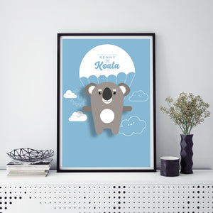 Kenny the Koala Animal Print - Instant Digital Download - Oddly Wild