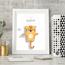 Load image into Gallery viewer, Lily the Leopard Animal Print - Instant Digital Download