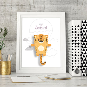 Lily the Leopard Animal Print - Instant Digital Download - Oddly Wild
