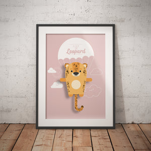Lily the Leopard Animal Print - Instant Digital Download