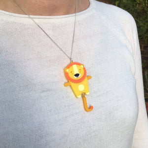 Lion Necklace - Oddly Wild