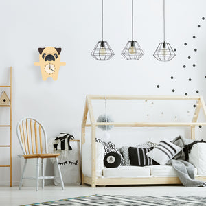 Pug Wall Clock - Oddly Wild