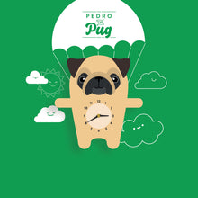 Load image into Gallery viewer, Pug Wall Clock - Oddly Wild