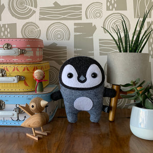 Penguin - Sew Your Own Felt Kit - Oddly Wild