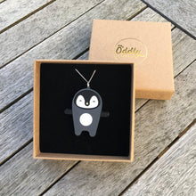 Load image into Gallery viewer, Penguin Necklace - Oddly Wild