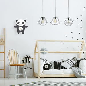 Panda Wall Clock - Oddly Wild