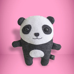 Panda - Sew Your Own Felt Kit - Oddly Wild
