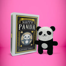 Load image into Gallery viewer, Mini Panda in a card box - Stuffed toy