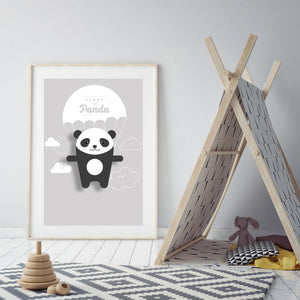 Penny the Panda Animal Print - Instant Digital Download - Oddly Wild