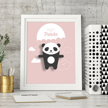 Load image into Gallery viewer, Penny the Panda Animal Print - Instant Digital Download