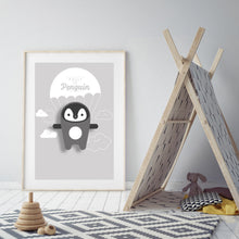 Load image into Gallery viewer, Polly the Penguin Digital Art Print