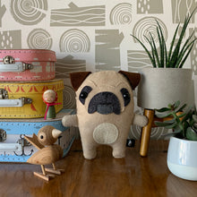 Load image into Gallery viewer, Pug - Sew Your Own Felt Kit - Oddly Wild