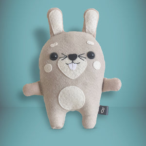 Rabbit - Sew Your Own Felt Kit - Oddly Wild