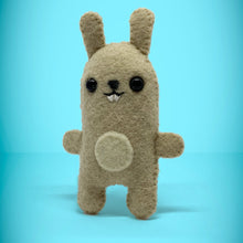 Load image into Gallery viewer, Mini Felt Rabbit in a card box - Stuffed toy
