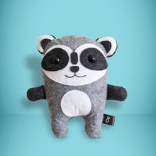 Load image into Gallery viewer, Raccoon - Sew Your Own Felt Kit - Oddly Wild