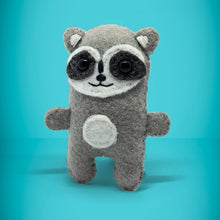 Load image into Gallery viewer, Mini Felt Raccoon in a box - Stuffed toy