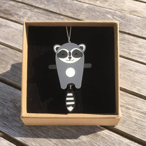 Raccoon Necklace - Oddly Wild