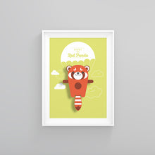 Load image into Gallery viewer, Roxy the Red Panda Animal Print - Instant Digital Download - Oddly Wild