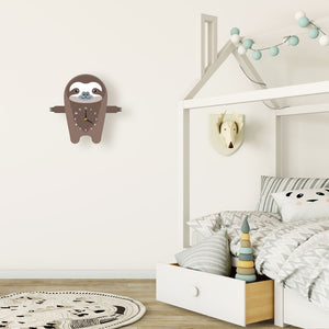 Sloth Wall Clock - Oddly Wild
