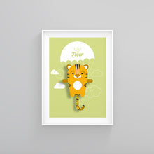 Load image into Gallery viewer, Tilly the Tiger Animal Print - Instant Digital Download - Oddly Wild