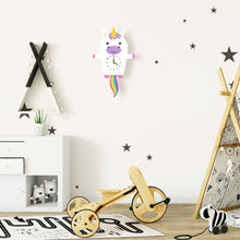 Load image into Gallery viewer, Unicorn Wall Clock with pendulum tail - Oddly Wild