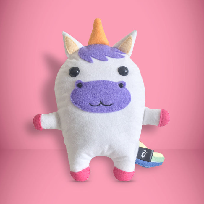 Unicorn - Sew Your Own Felt Kit - Oddly Wild