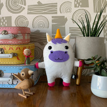 Load image into Gallery viewer, Unicorn - Sew Your Own Felt Kit - Oddly Wild