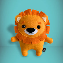 Load image into Gallery viewer, Lion - Sew Your Own Felt Kit - Oddly Wild