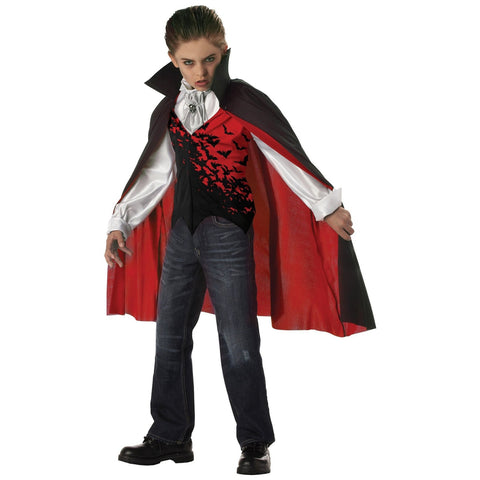 Prince of Darkness Boy's Costume