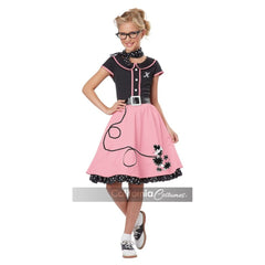 50's Sweetheart Girl's Costume