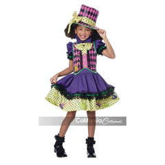 Mad Hatteress Girl's Costume