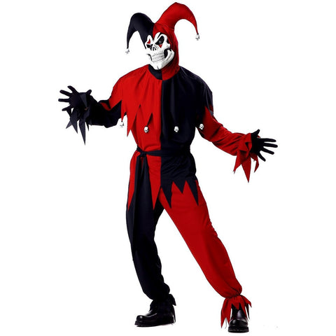 Evil Jester Men's Costume