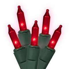 100 Red Mini Light Set