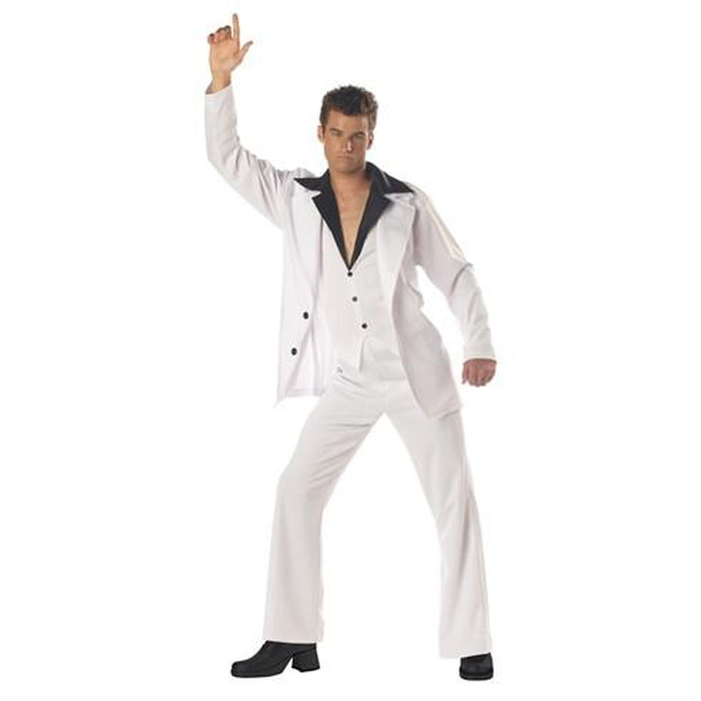 Disco Dude: Saturday Night Fever Men's Costume
