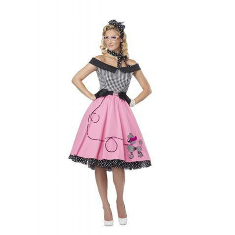 Nifty 50's Women's Costume