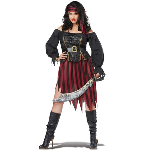 Queen of High Seas Plus Size Costume