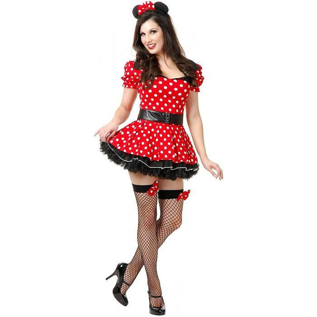 Miss Mouse Pin Up Sexy Costume