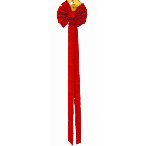 Long Tail Red Bow