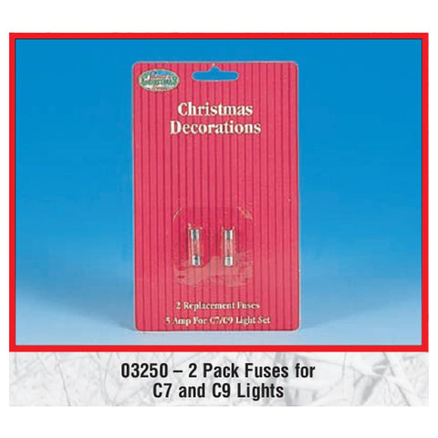 5 Amp Fuses - 2 Pack