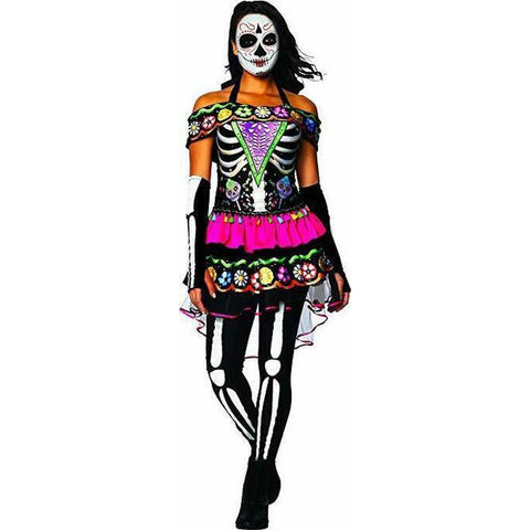Day of the Dead Teen Girl's Costume