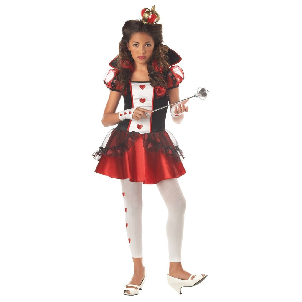 Queen of Hearts Girl's Costume