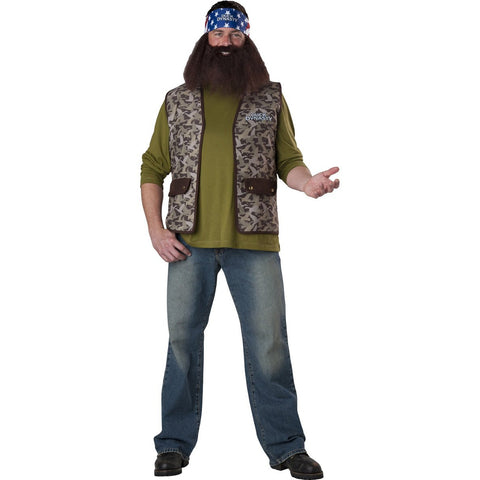 Duck Dynasty Willie Men's Costume