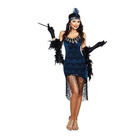 Downtown Flapper Plus Size Costumes
