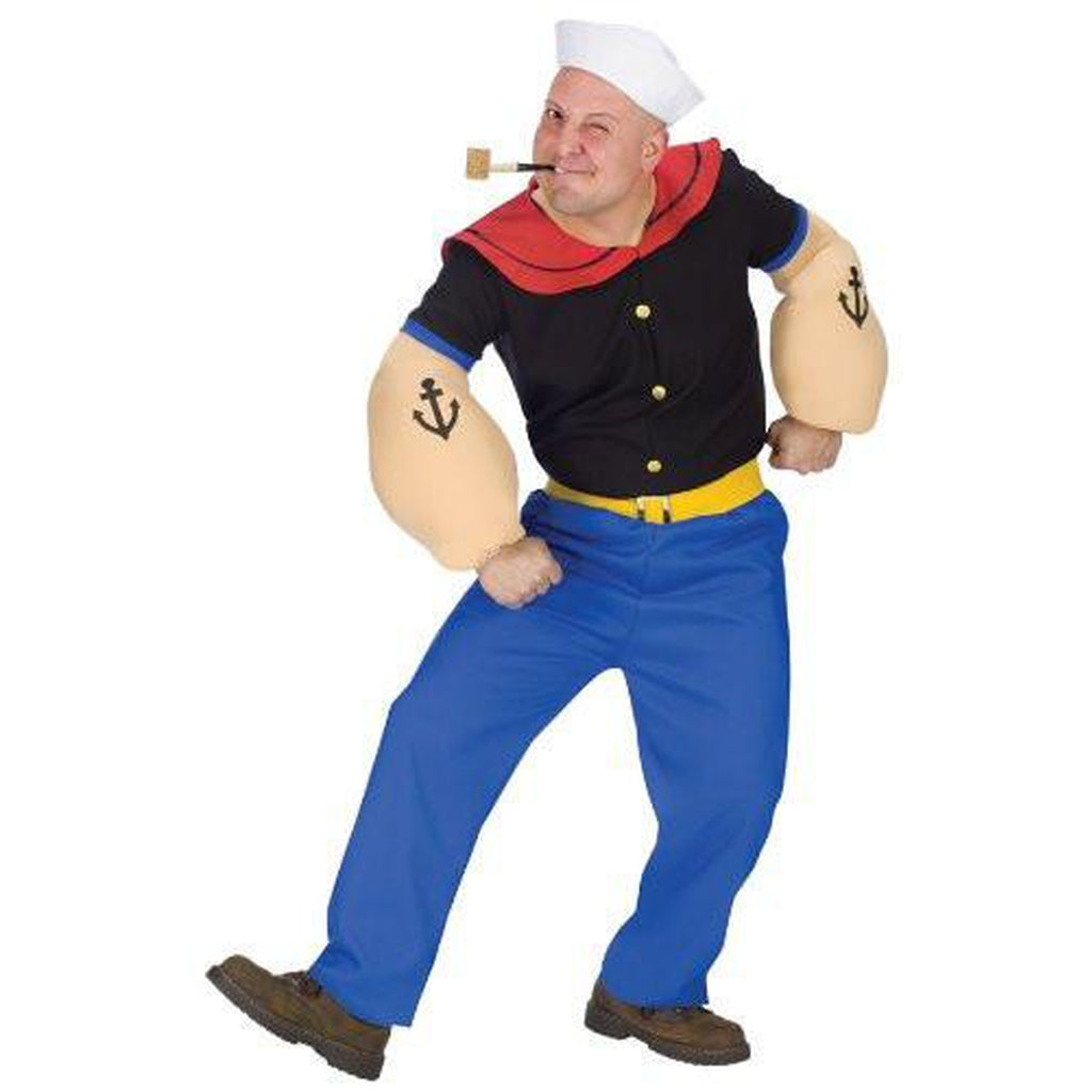 Popeye Men's Costume
