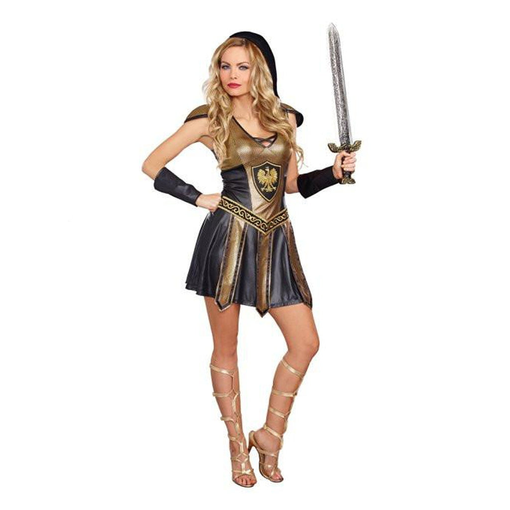 Deadly Warrior Sexy Costume