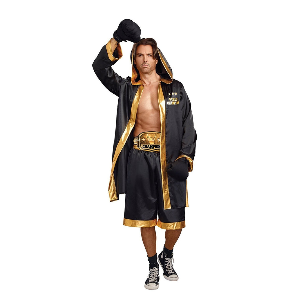 Boxing World Champion Men's Costume