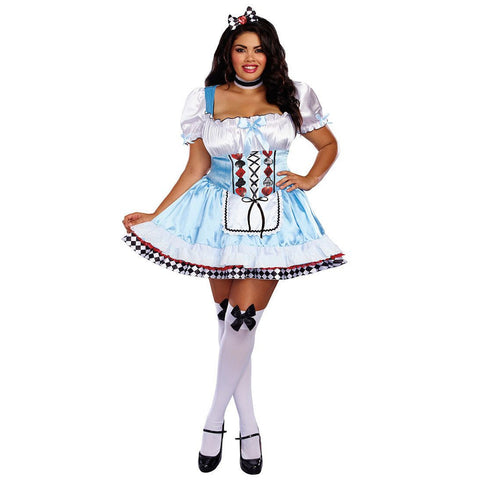 Beyond Wonderland Alice Plus Size Costume