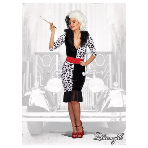 Dalmation Diva Women's Plus Costume
