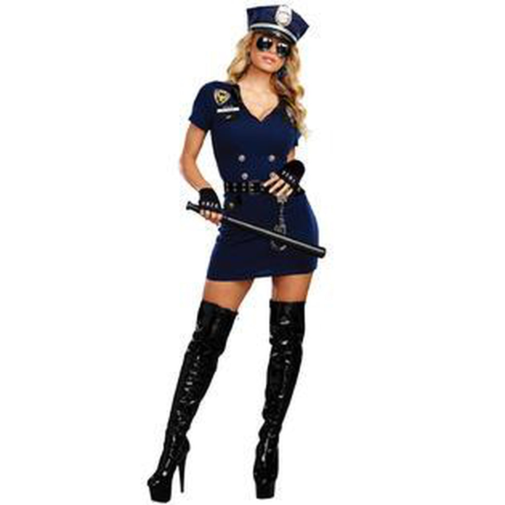 Officer Pat U Down Women's Costume