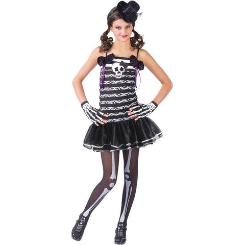 Skeleton Sweetie Girl's Costume